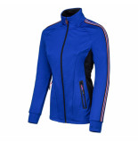 Sjeng Sports Ss lady fullzip top sammy sammy-n078 blauw