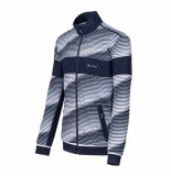 Sjeng Sports Ss men hooded jacket wes wes-w009 wit