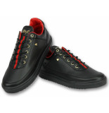 Cash Money Schoenen sneakers line black green red
