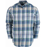 Gant Tp indigo madras reg lbd 3009420/277 blauw
