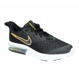 Nike Air max sequent 4 sh (gs) av4476-001 zwart