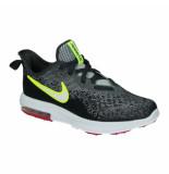 Nike Air max sequent 4 (ps) aq3579-006 zwart
