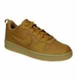 Nike Court borough low 2 (gs) bq5448-700 geel