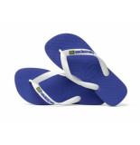 Havaianas Slipper brasil logo marine blu 411 blauw