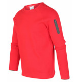 Blue Industry Pullover kbiw19-m17 rood