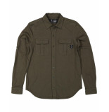 Butcher of Blue Overhemd 1814000 cooper shirt groen