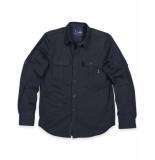 Butcher of Blue Overhemd 1814000 cooper shirt blauw