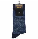 PME Legend Sock box cotton blend true navy blauw