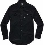 G-Star 3301 slim shirt zwart