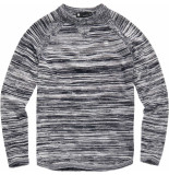 G-Star Core solli straight r knit l\s zwart