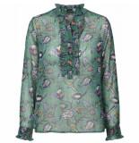 Lollys Laundry Shirt 19374 5052 franka groen