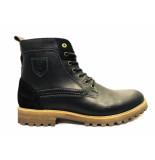 Pantofola d'Oro Pantofola d'oro veterschoenen pozano high zwart