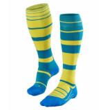 Falke Sk4 stripe women 16533-6160 blauw