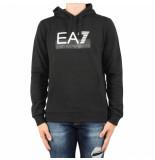 EA7 Weathirt zwart