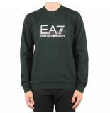 EA7 Weathirt groen