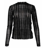 Y.A.S T-shirt 26016261 yaskelly zwart