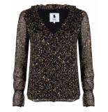 Blake Seven Blouse 1052 blouse lana zwart