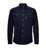 G-Star Overhemd d16044-a142-6067 blauw