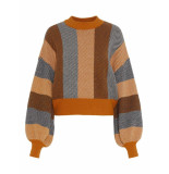 Y.A.S Harper knit pullover geel