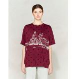 Golden Goose Deluxe Brand T-shirt melita g34wp126 rood