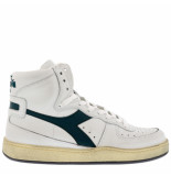 Diadora Sneakers mi basket used -groen wit