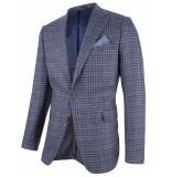 Cavallaro Cavallaro colbert ruit roma 95027 1395027-60001 blauw