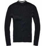 G-Star Lynn mock turtle knit wmn zwart
