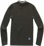 G-Star Lynn mock turtle knit pull grijs