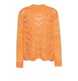 DIDI Gebreide sweater van wol look roze