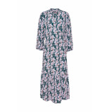 DIDI Maxi jurk met all over print paars