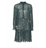 DIDI A-lijn jurk met print groen