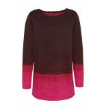 DIDI Warme trui met subtiele glinstering roze