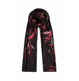 DIDI Sjaal met bloemenprint bruin