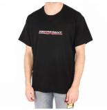 REPRESENT Stretch ogo t-shirt zwart