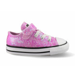 Converse All stars chuck taylor ox 765981c / wit roze