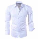 Pradz 2018 Heren overhemd wit
