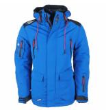 Wildstream Heren winterjas outdoorjas model lanquise blauw