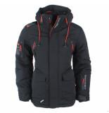 Wildstream Heren winterjas outdoorjas model lanquise zwart