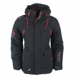 Wildstream Heren winterjas outdoorjas model lanquise zwart