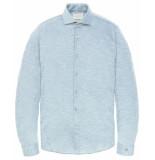 Cast Iron Overhemd csi196616 blauw