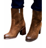Shabbies Enkel laarsjes shs0255 ankel boot bruin