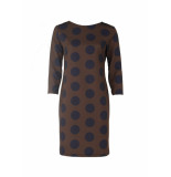 SRNDPTY Jurk skyler chocolate dots
