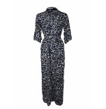 SRNDPTY Maxi dress celeste panther