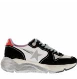 Golden Goose Deluxe Brand Sneakers running sole -zwart wit