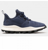 Timberland Men brooklyn lace oxford navy zwart