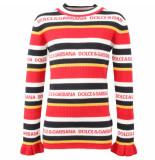 Dolce and Gabbana Kids Pull collo alto wit
