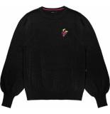 10 Feet Fine knitted pull black zwart