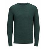 Jack & Jones Silas knit crew neck pull groen