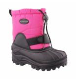 Color Kids Kiano snowboot dark roze
