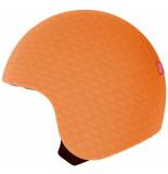 Egg Helmets Skin sunny om over de basis helm te dragen oranje